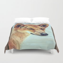 The Original Red Dog Duvet Cover