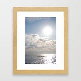 Cape Sun Framed Art Print