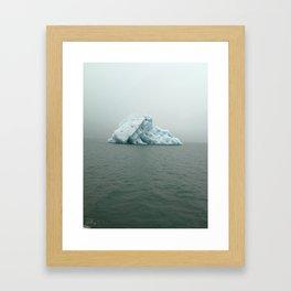 Jokulsarlon Iceberg Framed Art Print