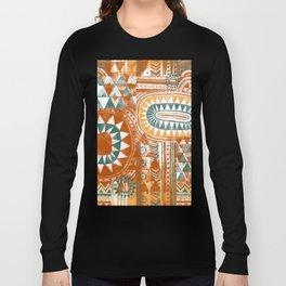 Tribal Bohemian Mosaic Long Sleeve T-shirt