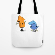 up n down show (alternate version) Tote Bag