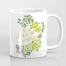 Sucker for Succulents Coffee Mug