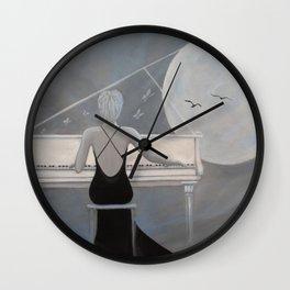 Moonlight  Serenade Wall Clock