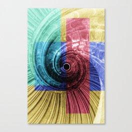 architecture art Canvas Print