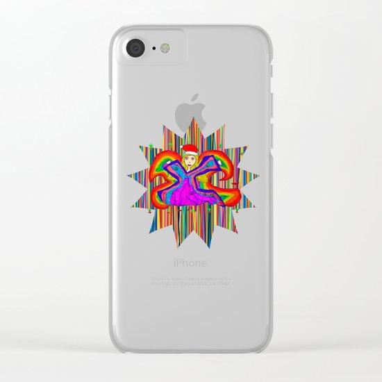 Star Fairy | Christmas Spirit Clear iPhone Case