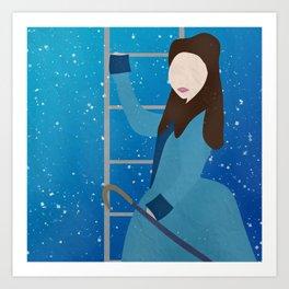 Souffle Girl, Clara Oswin Oswald - Doctor Who Art Print