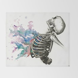 Life From Death Throw Blanket