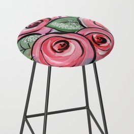 Roses for my Valentine Bar Stool
