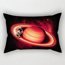 SATURN SKATING Rectangular Pillow