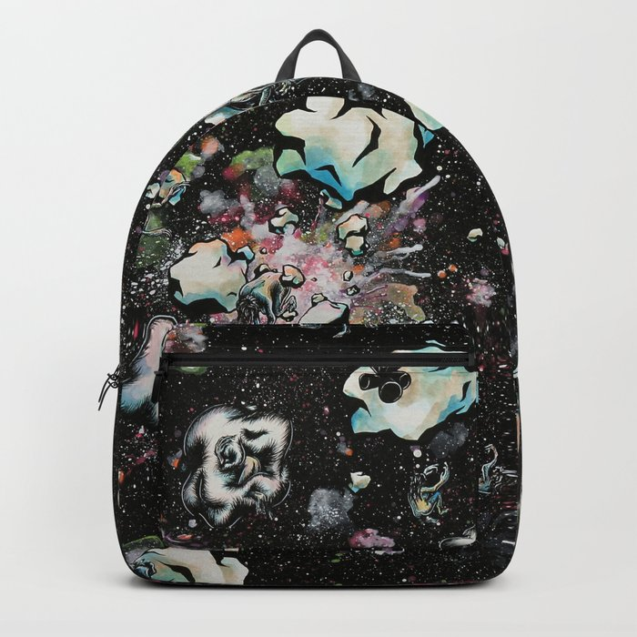 A Momentary Quietus in Space Backpack
