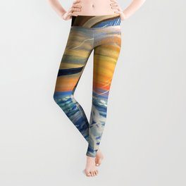 Above The Clouds Leggings