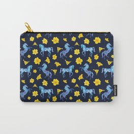 Precious blue horses Carry-All Pouch
