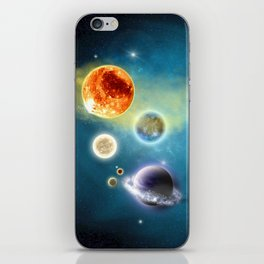 New Solar System iPhone Skin