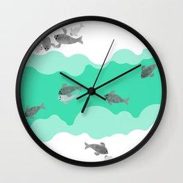 Ringed seal - Winter Arctic Wall Clock