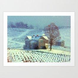 A Winter Place Art Print