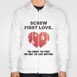First Love [BLACK] Hoody