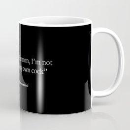 Steve Bannon Sucka Coffee Mug