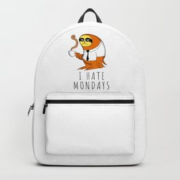 I hate Mondays Backpack