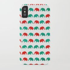 Elephants  iPhone X Slim Case