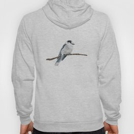 Gray Jay by Teresa Thompson Hoody