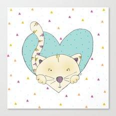 KITTY LOVE Canvas Print