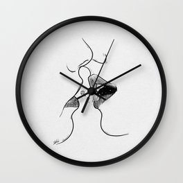 First kiss me . Wall Clock
