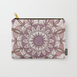 Blush Mandala Carry-All Pouch