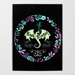 Book Dragon Poster