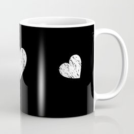 ghost paint heart Coffee Mug