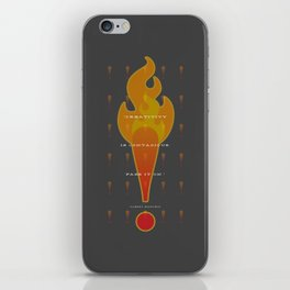 Creative Spark iPhone Skin