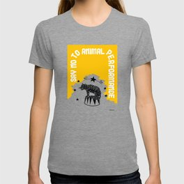 Say NO to Animal Performance – Tiger T-shirt