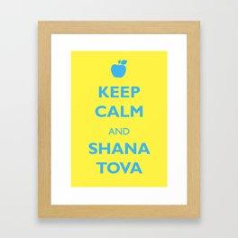 Shana Tova Framed Art Print