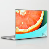 aelwen Laptop & iPad Skins featuring Grapefast by Xchange Art Studio