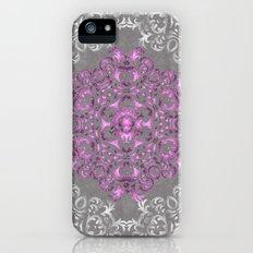 Mandala Pattern with Glitters II iPhone SE Slim Case