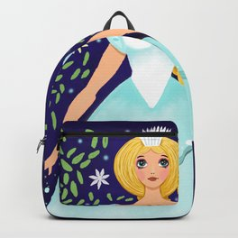 The Winter Fairy Brings The First Frost Backpack