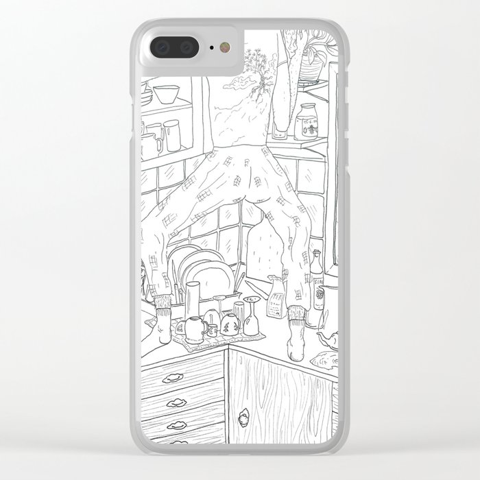 beegarden.works 014 Clear iPhone Case