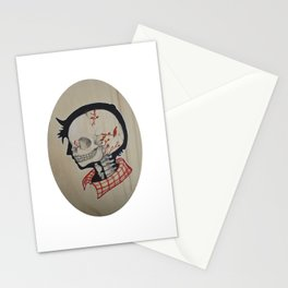 Boy Next Door - Silhouette and Anatomy Love Painting Stationery Cards