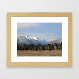 #406 bitterroot 406 b itterroot mt Framed Art Print