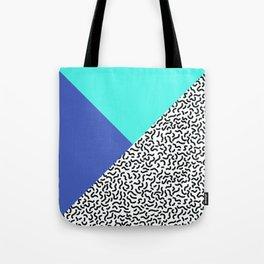 Memphis pattern 29 Tote Bag