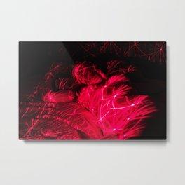 Laser Love Metal Print