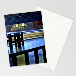 Nocturnal Floating Lights Stationery Cards