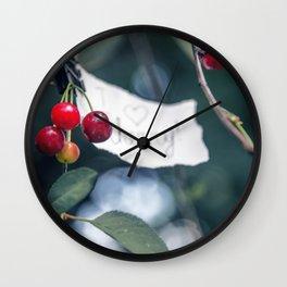 I like herry Wall Clock