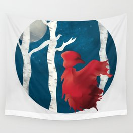The Name's Red Wall Tapestry