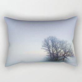 One Foggy Morning Rectangular Pillow