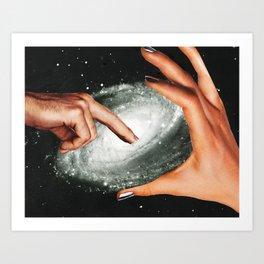 Cosmic Dimension Art Print