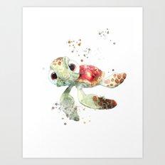 Nemo turtle Art Print
