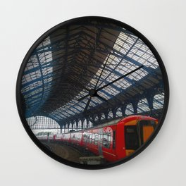 Brighton Train Station Wall Clock