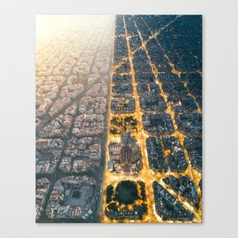 Light & Dark Canvas Print