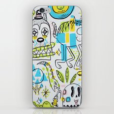 Shape Shifters iPhone & iPod Skin