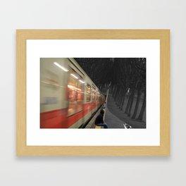 METROPARK Framed Art Print